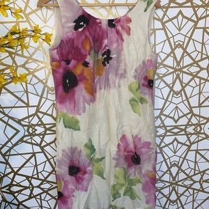 Pretty floral spring themed dress